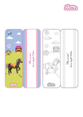Seren the Pony Lottie printable bookmark