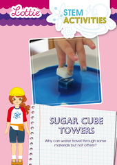 Sugar Cube Towers STEM Activity