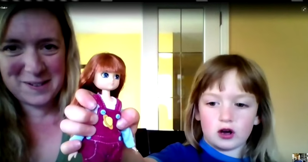 Stargazer Lottie Doll - CTV Footage
