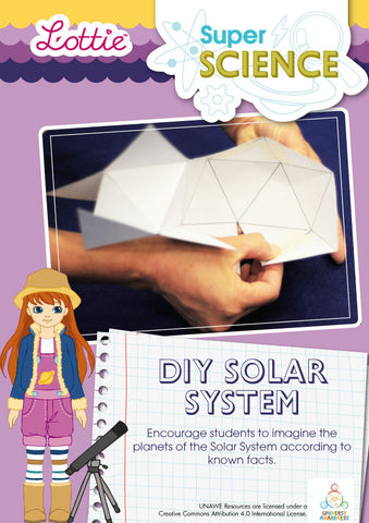 DIY Solar system activity for kids