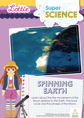 Spinning Earth science activity for kids