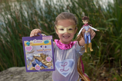 Superhero doll girls Lottie