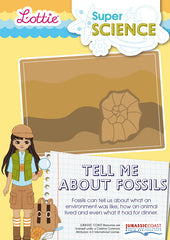 Tell me about fossils factsheet for kids