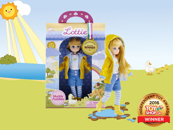 Muddy Puddles Lottie Doll Gold Awards Winner
