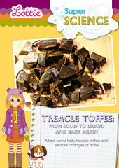 Treacle Toffee: From solid to liquid and back again activity for kids