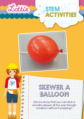 Skewer a Balloon STEM Activity