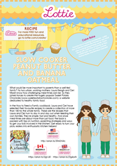 Lottie Peanut Butter and Banana Oatmeal recipe