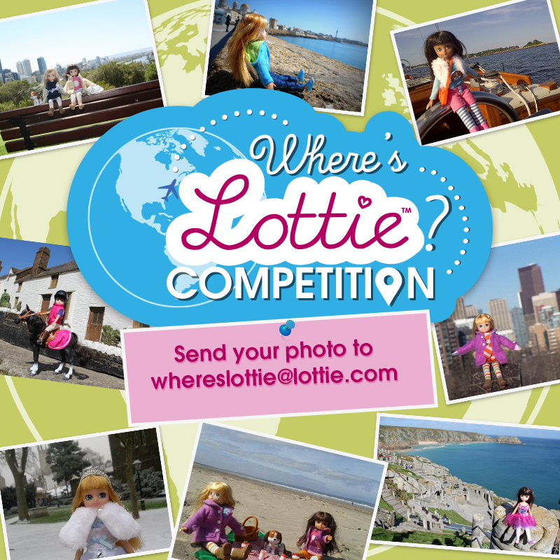 """Where is Lottie?"" Monthly Competition"