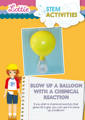 Blow up a balloon STEM Activity