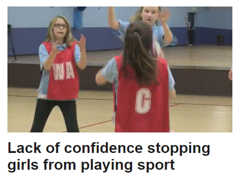 article about girls lack of confidence