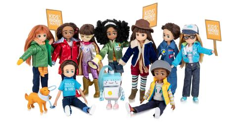 lottie dolls range and boy dolls
