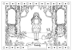 Forest Friend Colouring Sheet
