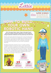 How to build your own robotic hand