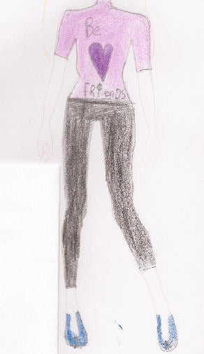 Lottie doll Fashion Design Competition Winner November 2012
