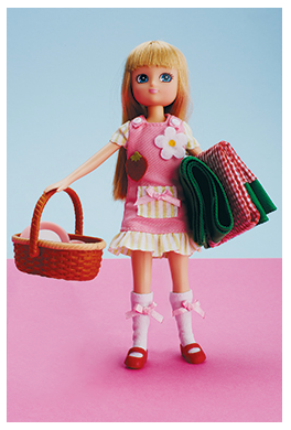 Lottie dolls in Atlanta Parent magazine