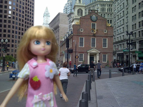 Where's Lottie? Learning about American history in Boston, MA, USA