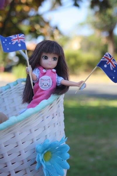 Where's Lottie? Celebrating Australia Day in Melbourne, Australi