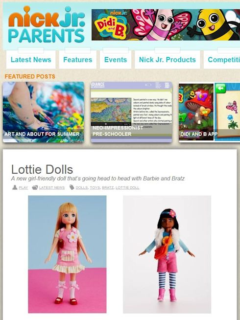 Lottie Dolls on NickJr