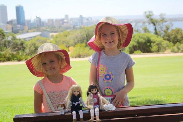 Where's Lottie? At the park in Perth, Australia