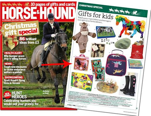 Seren the Welsh Mountain Pony in Horse and Hound magazine