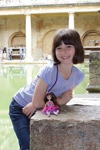 Where's Lottie? Discovering the Roman baths in Bath, UK