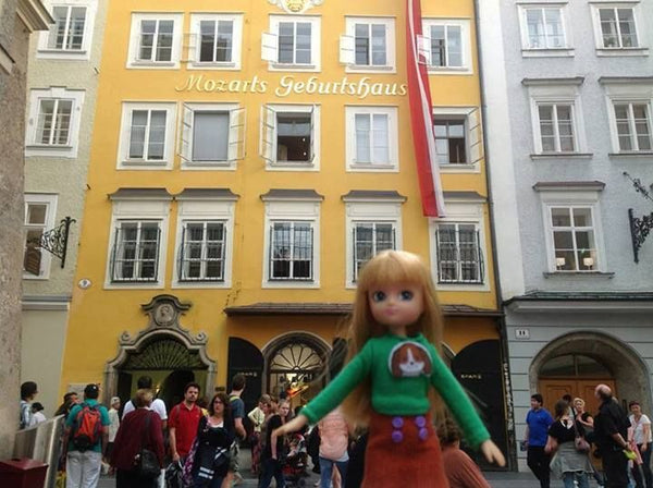 Where's Lottie? Learning about Mozart in Salzburg, Austria