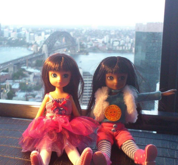 Where's Lottie? Admiring the view in Sydney, Australia