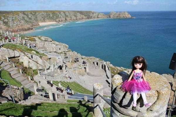 Where's Lottie? Visiting the Minack Theatre in Cornwall, UK