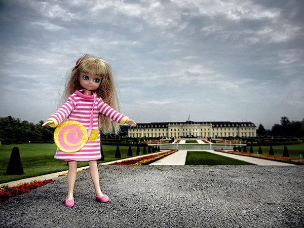 Where's Lottie? Attending Fairy Tales Day at Schloss Ludwigsburg in Germany