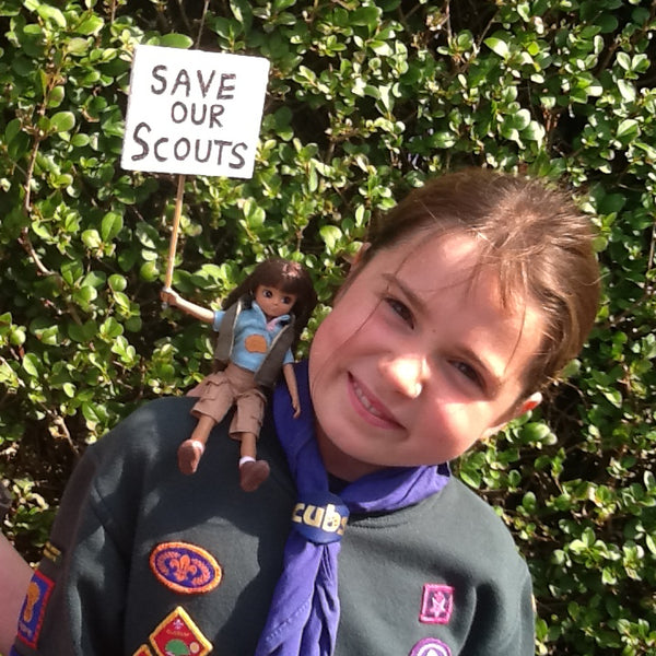Olivia Fossil Hunter Lottie Save Our Scouts