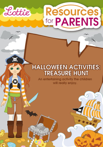 Halloween Activities: Treasure Hunt