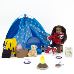 Wildlife Photographer and Camping Set