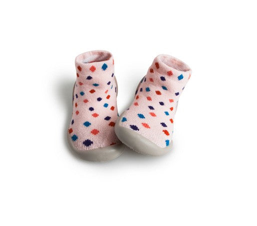 Indoor Slippers - Sixties Dots