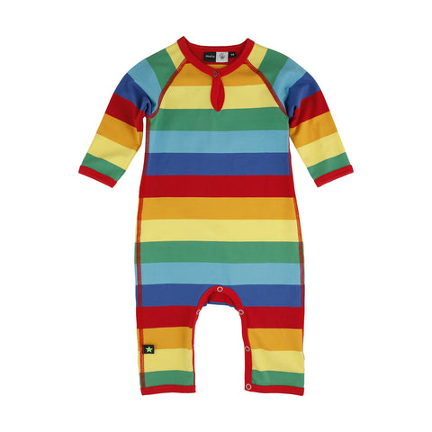 Baby Body Suit - Rainbow Stripe