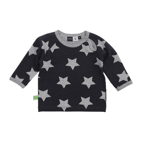 Sweat Shirt - Dark Melange Star