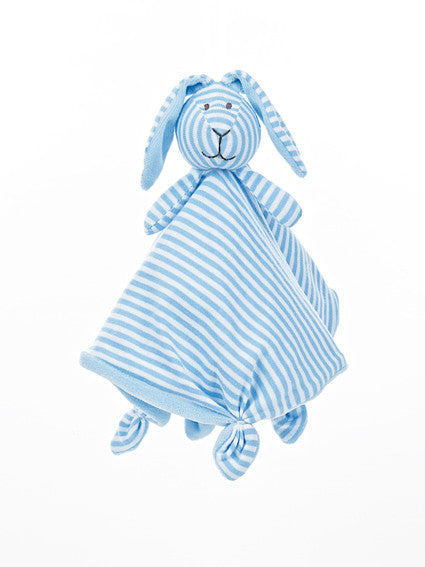 Original Teddykompaniet Rabbit Stripy Blue Blanky My Baby Edit