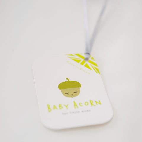 Original Acorn Baby Dot Knot Hat Swing Tag My Baby Edit