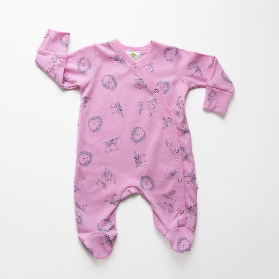 Original Strawberry Woodland Baby Grow