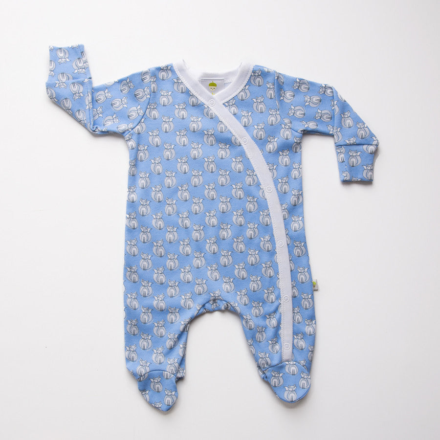Original Baby Acorn Baby Grow Waterfall Fox