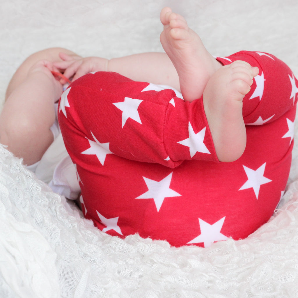 Fred and Noah Red Star Leggings
