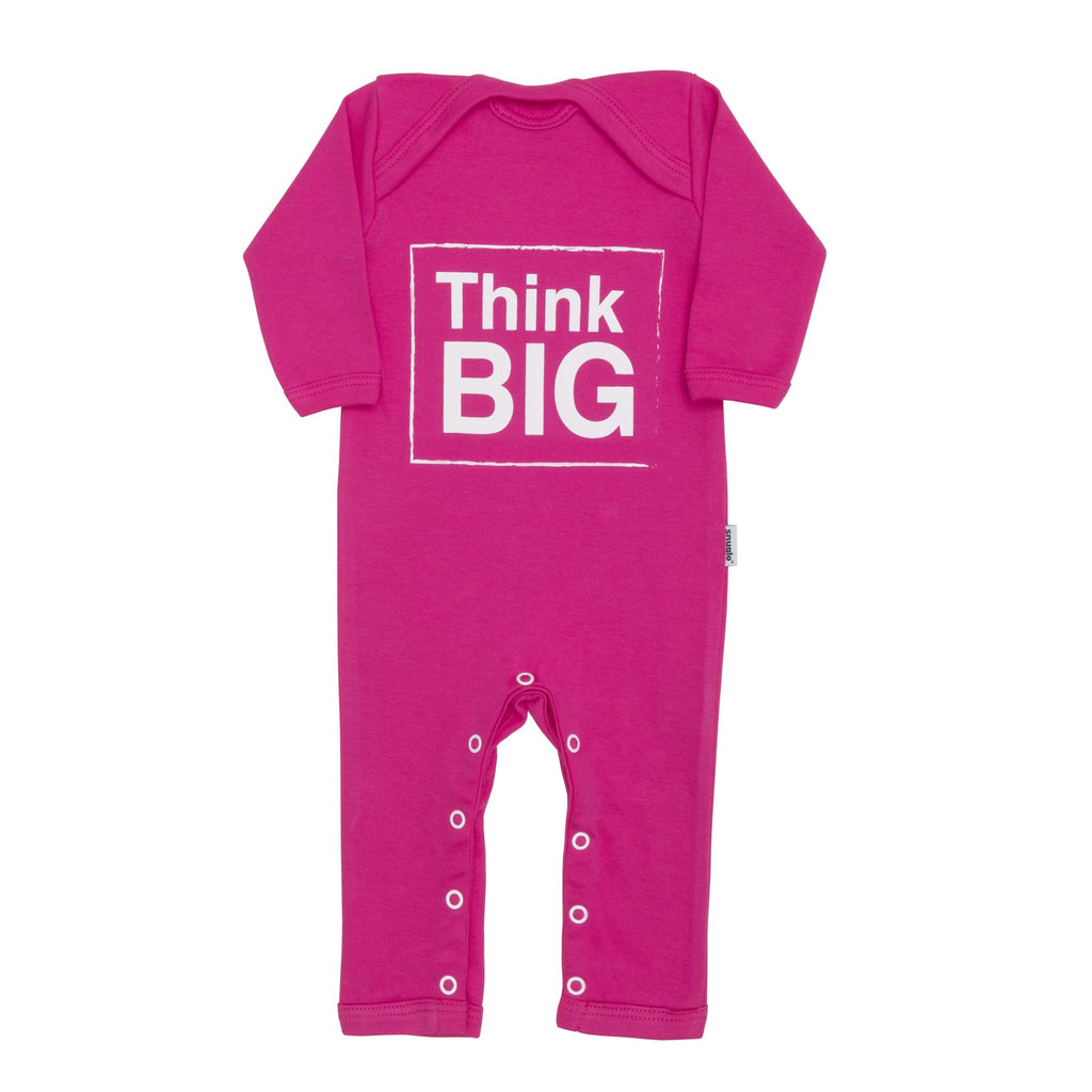 Think Big Baby Grow - Pink