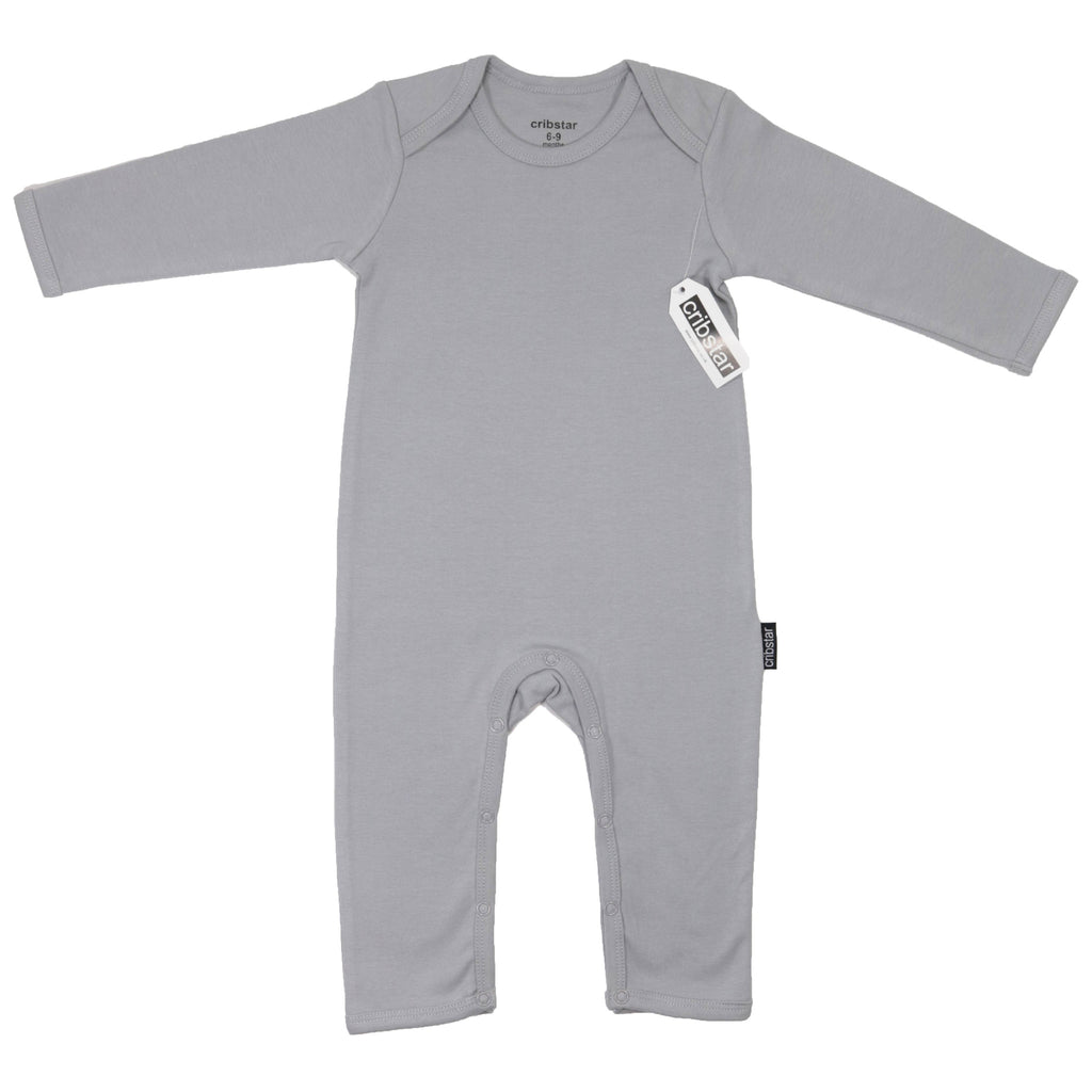 Original Cribstar Aluminium Grey Baby Romper My Baby Edit