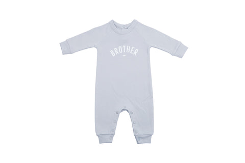 All in One Baby Body - BROTHER Mouse Grey