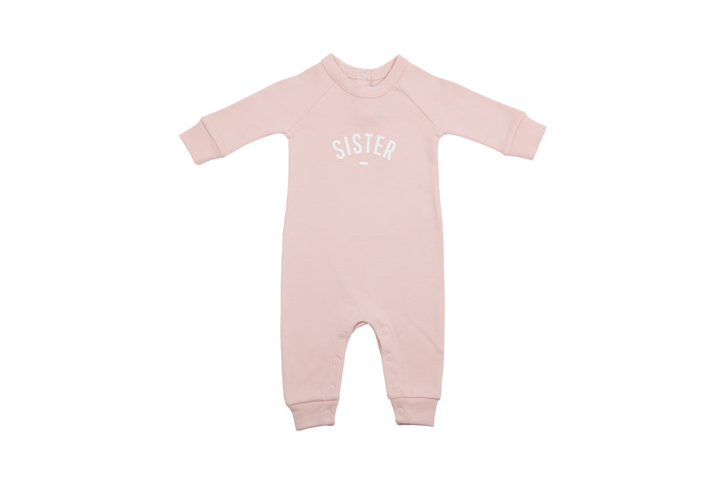 All in One Baby Body - SISTER Blush Pink