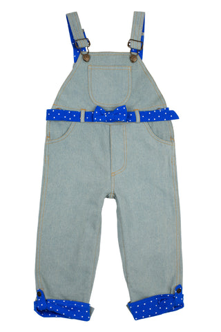 Original Dotty Dungarees Dotty Blue Dungarees My Baby Edit
