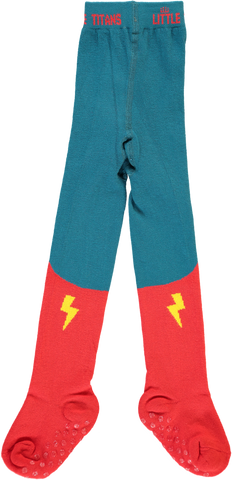Original Little Titan tights ''Little Hero'' -  Front - My Baby Edit