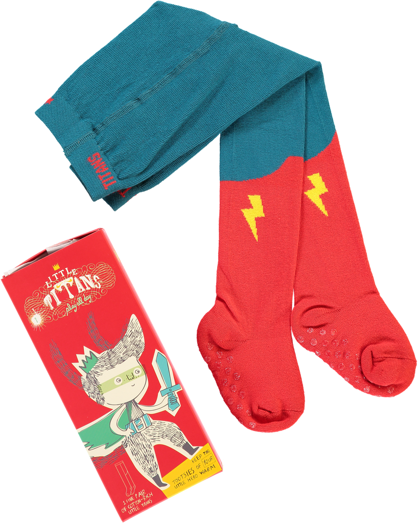 Original Little Titan tights ''Little Hero'' - My Baby Edit
