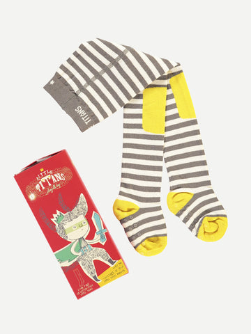 Full Leg Baby Tights - Sunshine Stripes