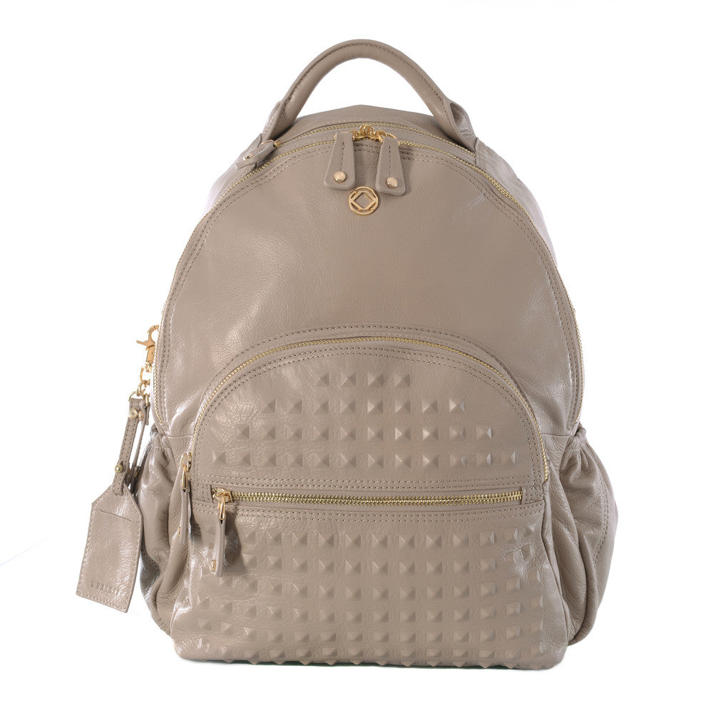 Original Kerikit Real Leather XL Grey Joy Backpack My Baby Edit