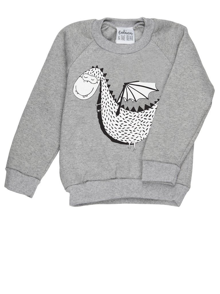 Original Tobias & The Bear Duke the Dragon Sweatshirt My Baby Edit